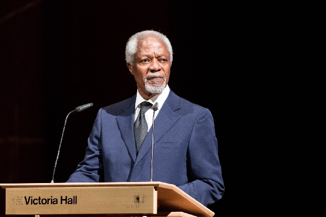 Mr. Kofi Annan - former United Nations Secretary General